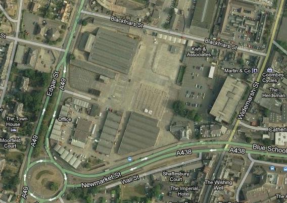 Hereford Cattle Market Car Park